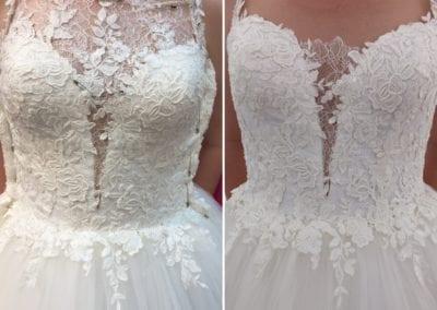 Brautkleid jetzt anpassen lassen