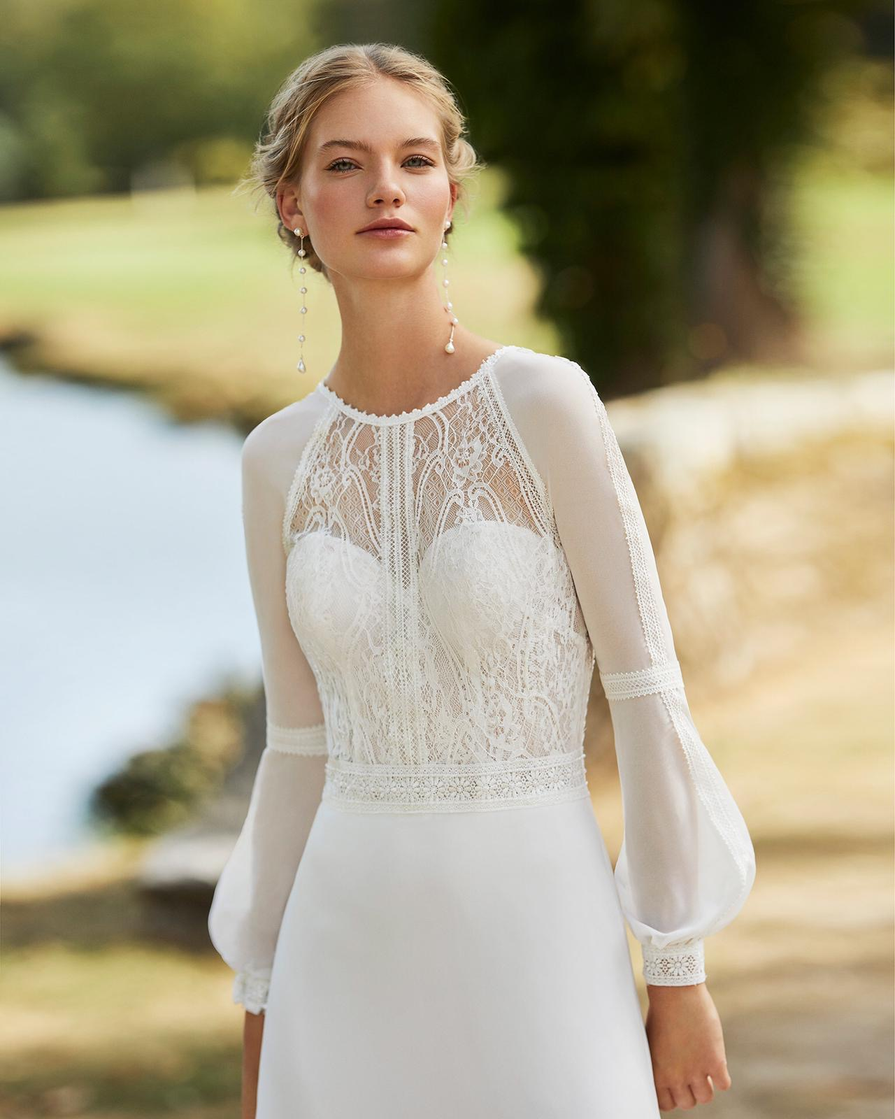 Boho Hochzeitskleid sposa